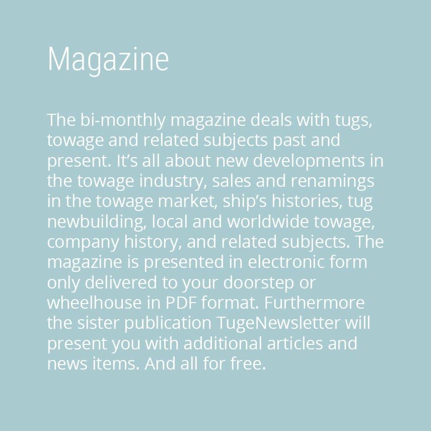 TugeZine — Studio DBLY